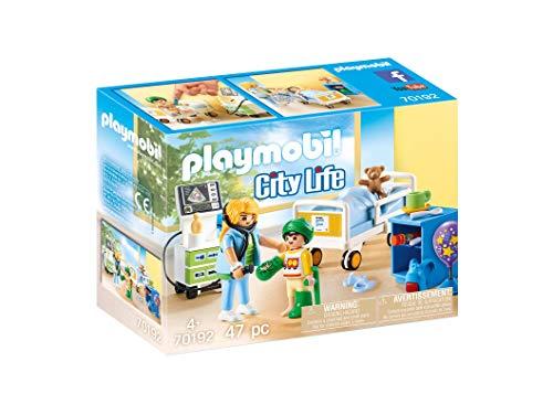 PLAYMOBIL City Life 70192 Kinderkrankenzimmer, Ab...