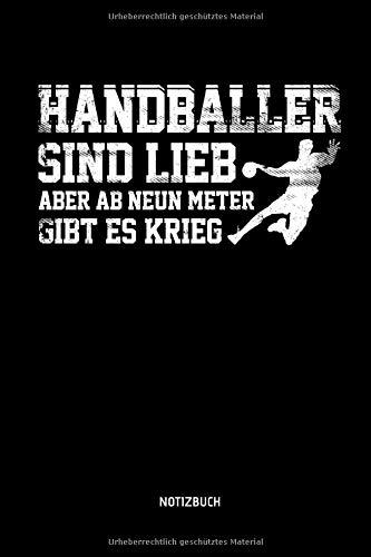 Handballer Sind Lieb - Aber Ab Neun Meter Gibt Es...