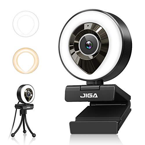 1080P Webcam mit Mikrofon, Full HD Facecam...