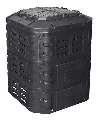 Komposter 860L aus Kunststoff, Schnellkomposter...