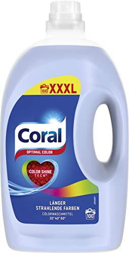 Coral Waschmittel flüssig für bunte Wäsche –...