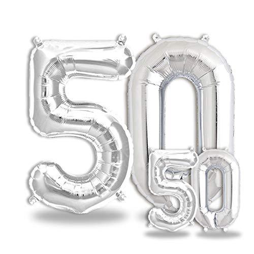 FUNXGO® Party Dekoration Folienballon Zahlen in...