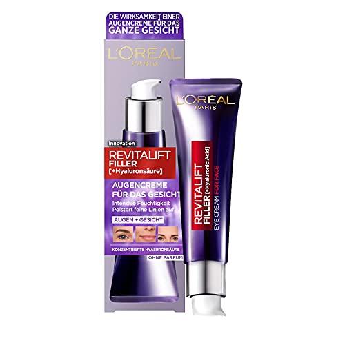 L'Oréal Paris Hyaluron Augenpflege, Anti-Aging...