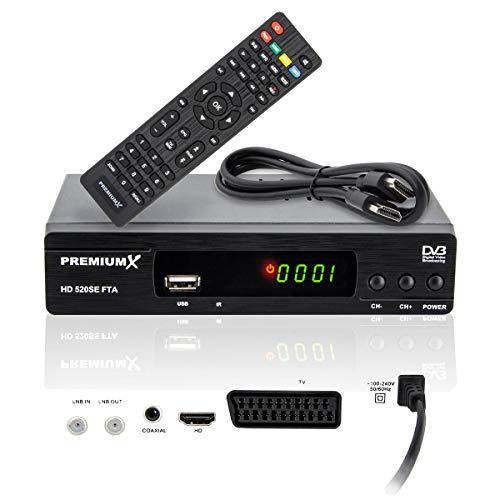 PremiumX HD 520SE FTA Digital SAT TV Receiver...