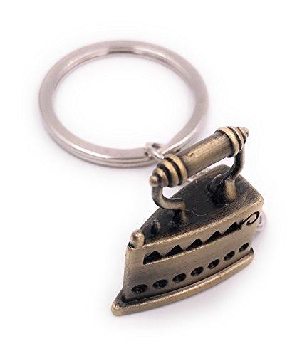 H-Customs Bügeleisen Schlüsselanhänger...