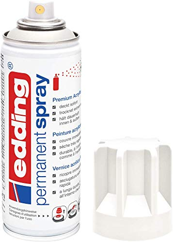 edding 5200 Permanent Spray - verkehrsweiß matt -...