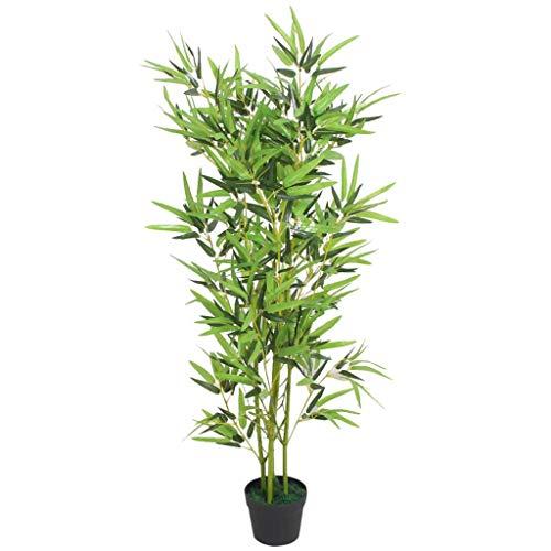 vidaXL Künstliche Bambuspflanze mit Topf...