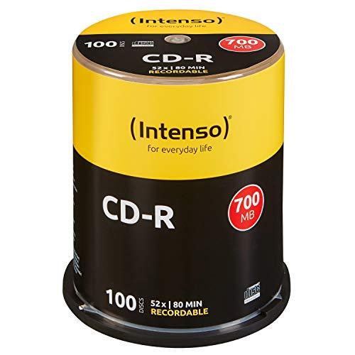 Intenso CD-R 100er Spindel 700MB 52x Speed...