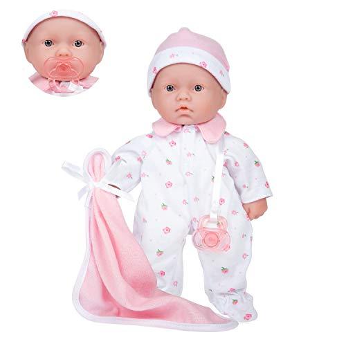 JC Toys – La Baby Puppe mit weichem Körper,...