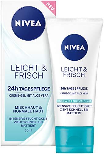 NIVEA Leicht & Frisch Tagespflege 24h Feuchtigkeit...