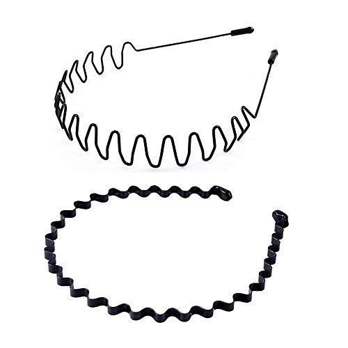 UTOMAG Metall Haarband für Herren und Damen –...