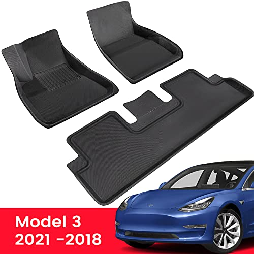 TAPTES Fußmatten für Tesla Model 3 2021 2020...