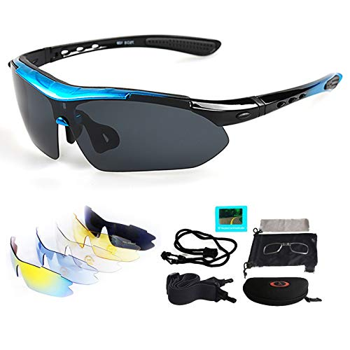 VILISUN Sportbrille Fahrrad Brille UV400 5...