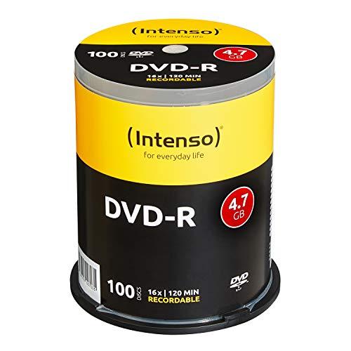 Intenso DVD-R 16x Speed 4,7GB (100er Spindel...
