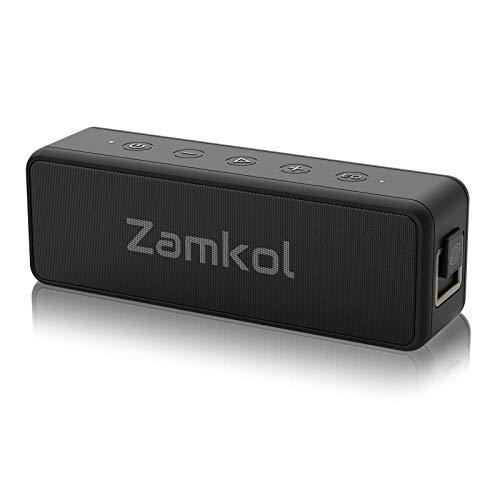 Bluetooth Lautsprecher, Zamkol Tragbarer Boxen mit...