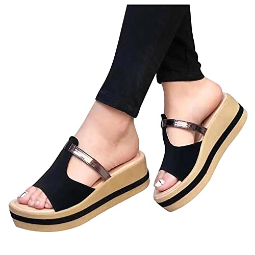 Briskorry Pantoffeln Damen Casual Sommer Mode...