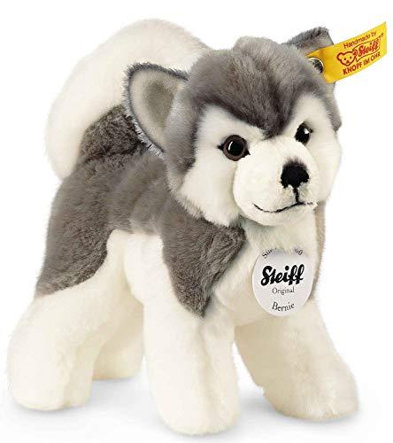 Steiff Bernie Husky - 17 cm - Plüschhund stehend...