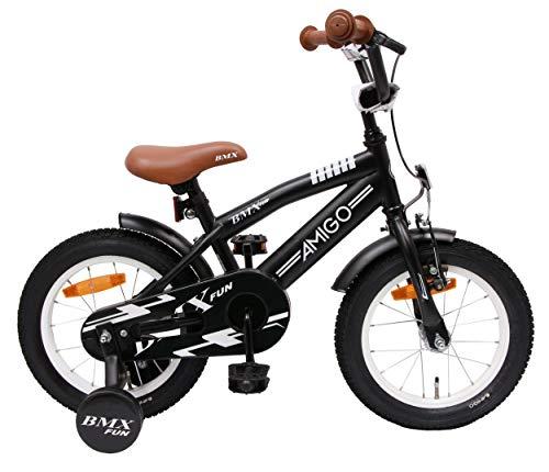 Amigo BMX Fun - Kinderfahrrad für Jungen - 14...