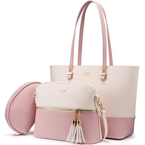 LOVEVOOK Handtasche Damen Schultertasche...