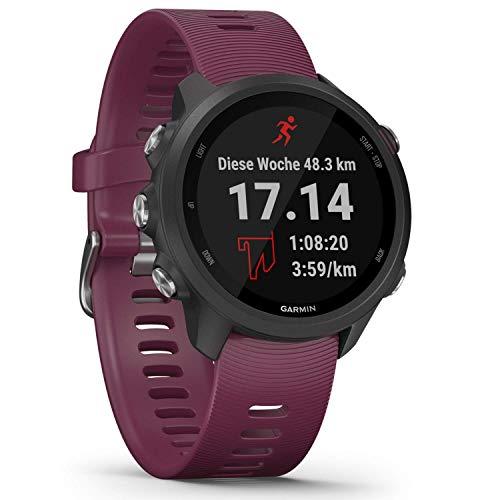 Garmin Forerunner 245 – GPS-Laufuhr mit...