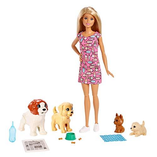 Barbie FXH08 - Hundesitterin Puppe und Welpen...