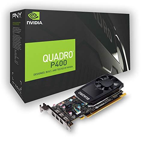 PNY Quadro P400 DVI Professional Grafikkarte 2GB...