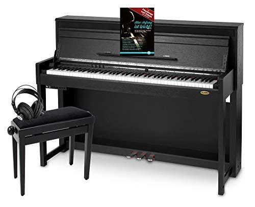 Classic Cantabile UP-1 SM E-Piano Deluxe Set...