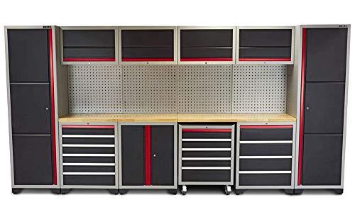 Profi Werkstatteinrichtung Set mit Schubladen 405...