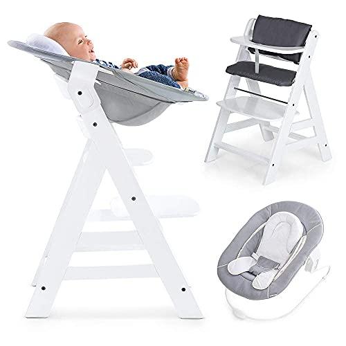 Hauck Alpha Newborn Set - Baby Holz Hochstuhl ab...