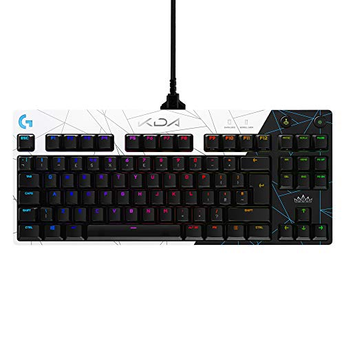 Logitech G PRO K/DA Mechanische Gaming-Tastatur,...
