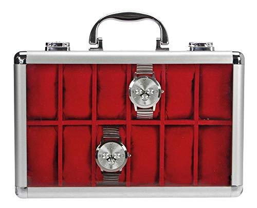 SAFE 265 ALU Uhrenaufbewahrungsbox Herren für 12...