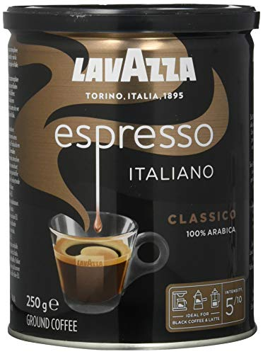 Lavazza Gemahlener Kaffee - Espresso Italiano -...