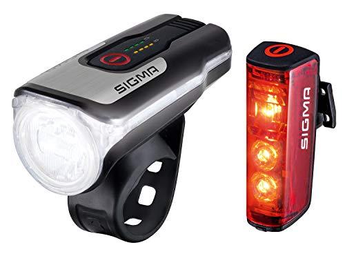 SIGMA SPORT - LED Fahrradlicht Set Aura 80 und...