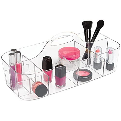 mDesign Kosmetikkorb mit 11 Fächern – tragbarer...