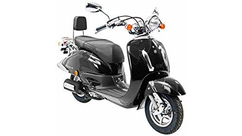FLEX TECH Motorroller Retro Firenze, 50 ccm, 45...