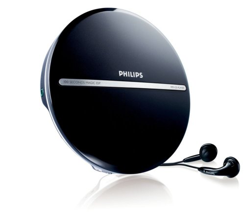 Philips EXP2546 Tragbarer CD-/MP3-Player...
