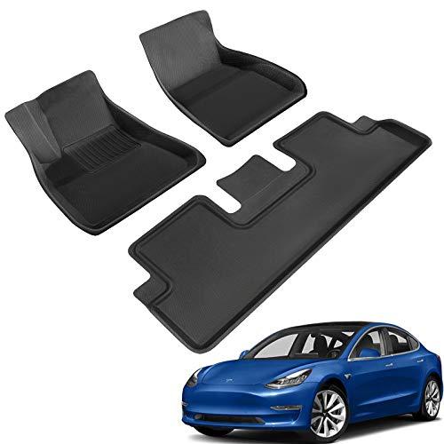 TAPTES Allwetter-Fußmatten Tesla Model 3 2021...
