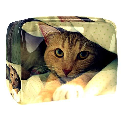 Make-up Taschen Katzendecken Wasserdicht leichte...