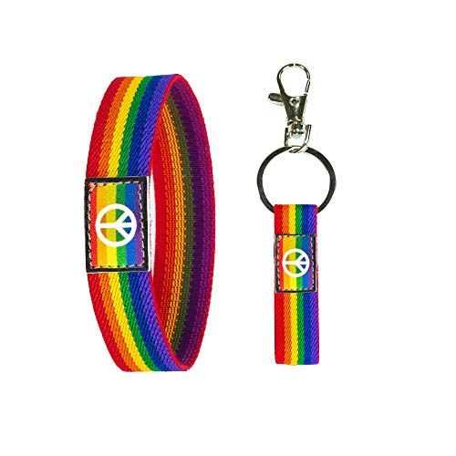 Lgbtq Armbänder Mit Friedenssymbol Homosexuell...