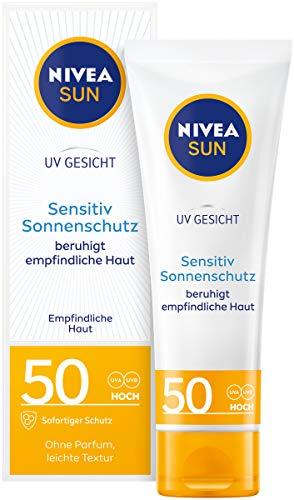 NIVEA SUN UV Gesicht Sensitiv Sonnencreme im 1er...