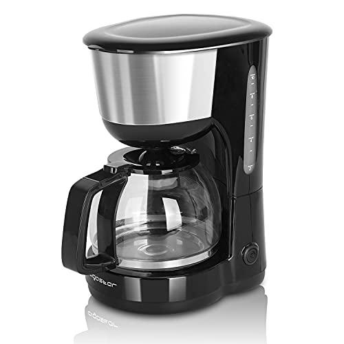 Aigostar Kaffeemaschine Edelstahl, 1000watt...