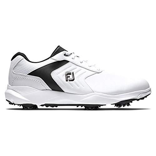 Footjoy Herren Ecomfort Golfschuh, Blanco/Negro,...