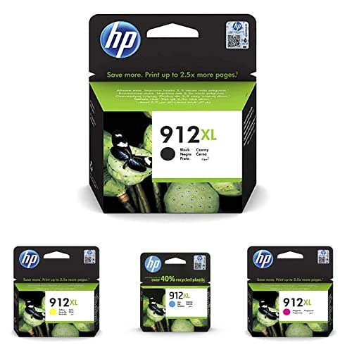 HP 912XL High Yield Schwarz Original Ink Cartridge...