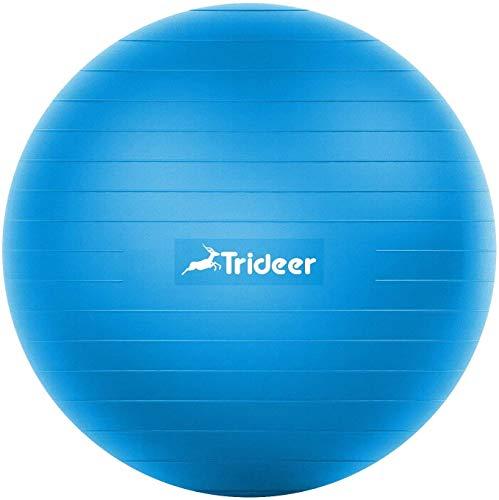 Trideer Dicker Gymnastikball, Anti-Burst Pilates...