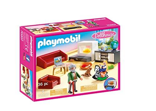 PLAYMOBIL Dollhouse 70207 Gemütliches Wohnzimmer,...
