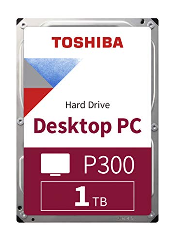 TOSHIBA P300 Interne Festplatte 1 TB – 3,5 Zoll...