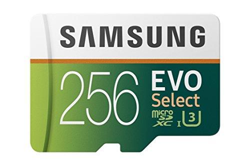 Samsung EVO Select 256 GB microSD 100MB/s,...