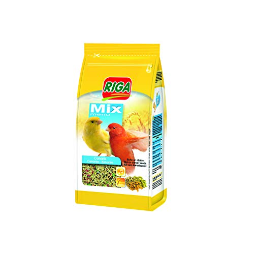 Riga Menü Mix für Kanarienvögel, 5er Pack (5 x...
