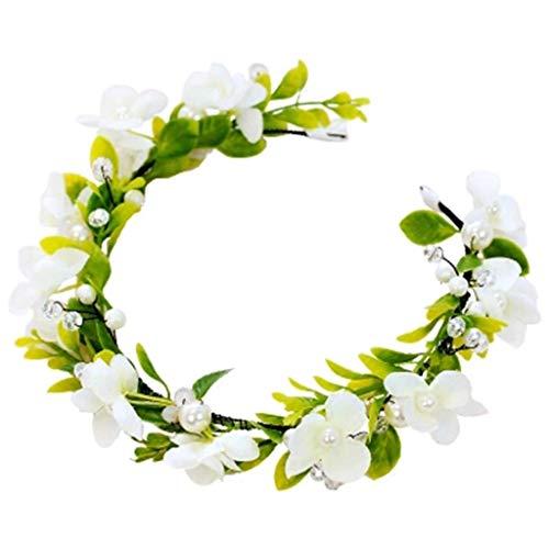 THj Blumenkranz Stirnband Blumen Kopfbedeckung...