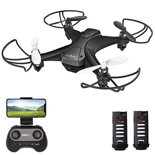 tech rc Drohne mit Kamera HD FPV RC Mini Drone mit...